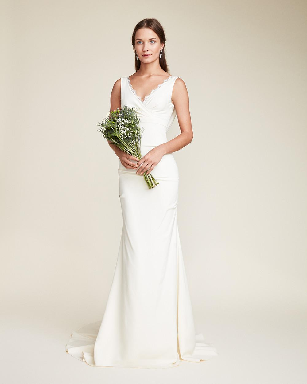 nicole miller wedding dress lyst miller bridal gown in white 6162