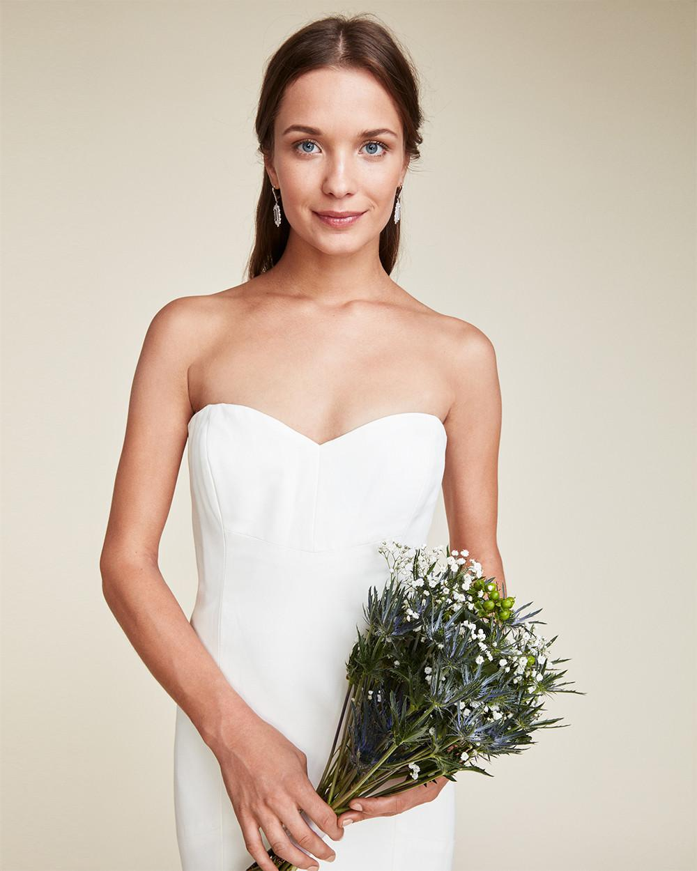 Lyst - Nicole Miller Dakota Bridal Gown in White