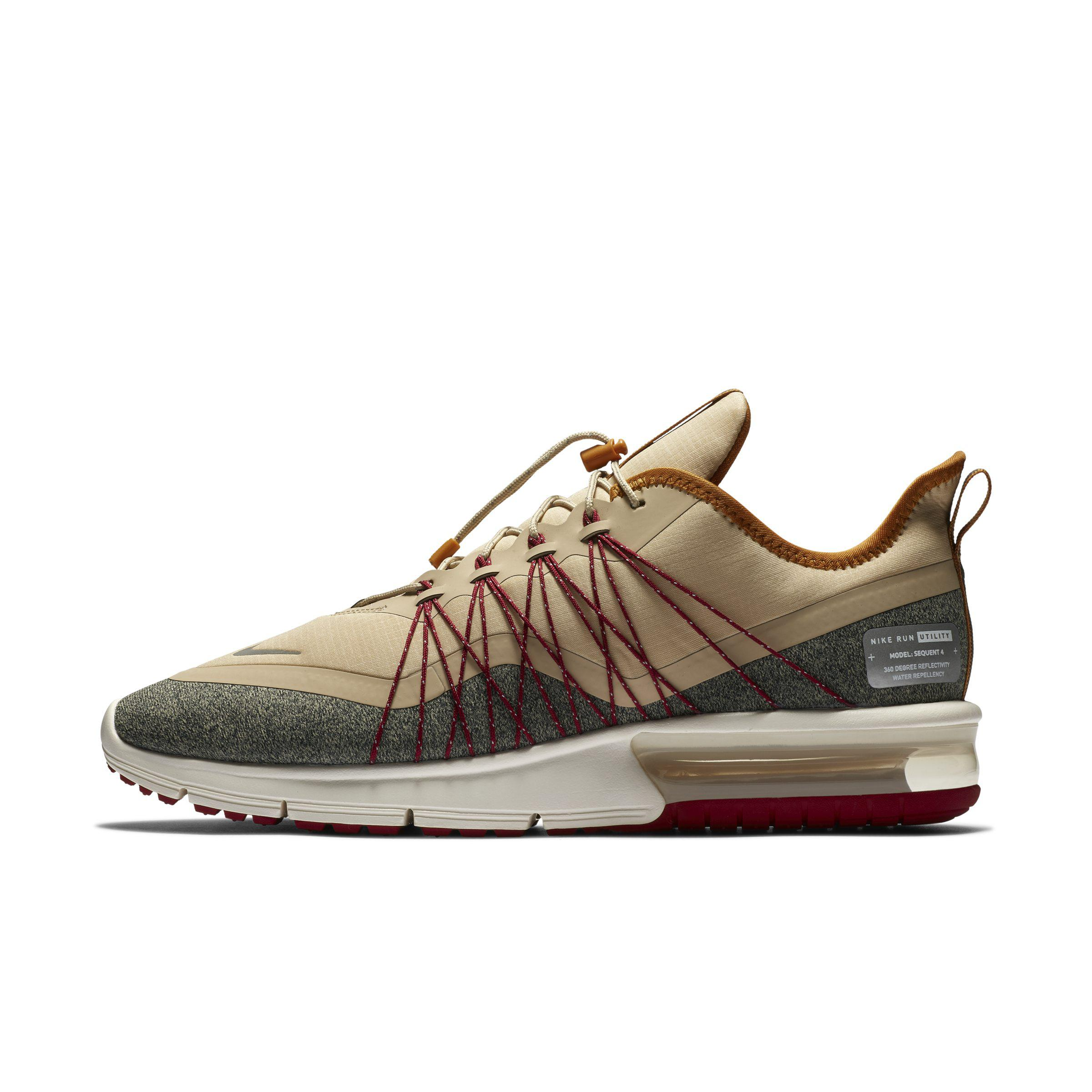 finest selection f4e1f 648e6 Nike Air Max Sequent 4 Shield Shoe in Brown for Men - Lyst