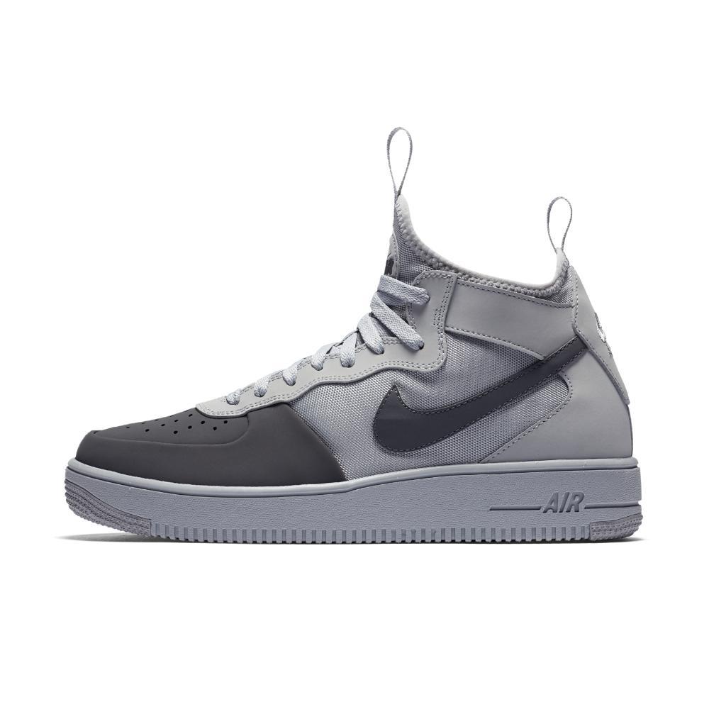 Lyst - Nike Air Force 1 Ultraforce Mid Tech Men s Shoe in Gray for Men a6da49744