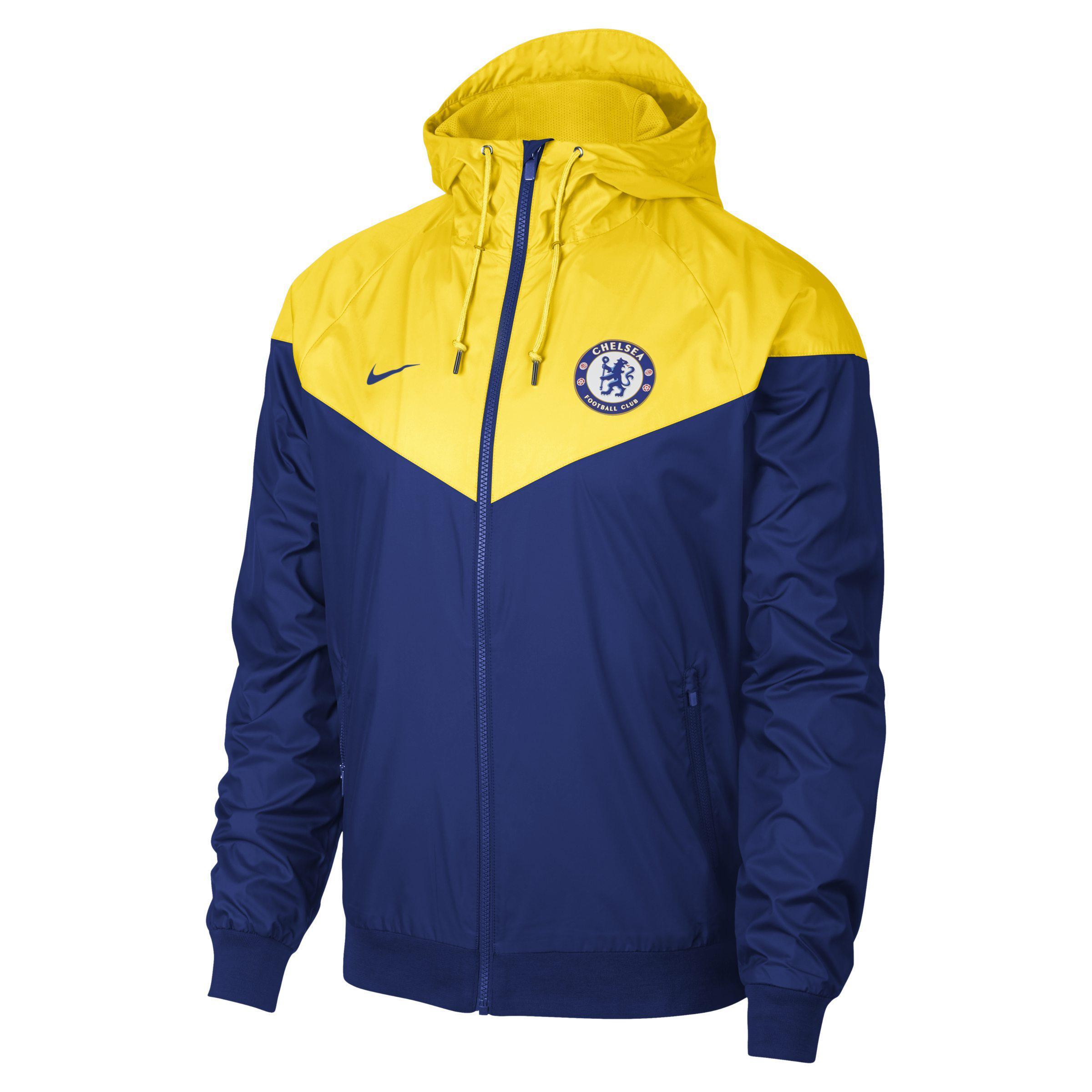 27b4c2145 Nike Chelsea Fc Windrunner Jacket in Blue for Men - Lyst