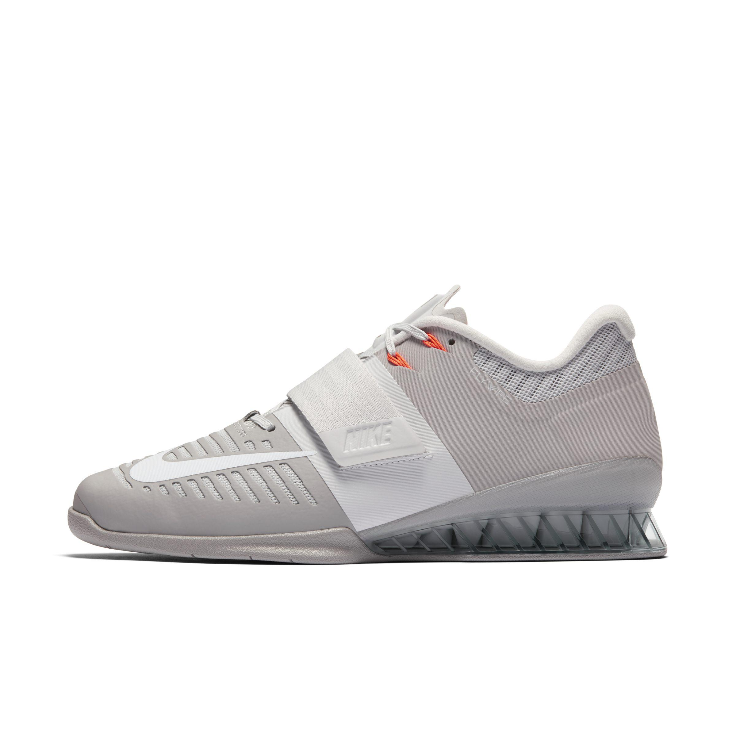 promo code 93c54 1c918 Nike Romaleos 3 Weightlifting powerlifting Shoe in Gray - Lyst