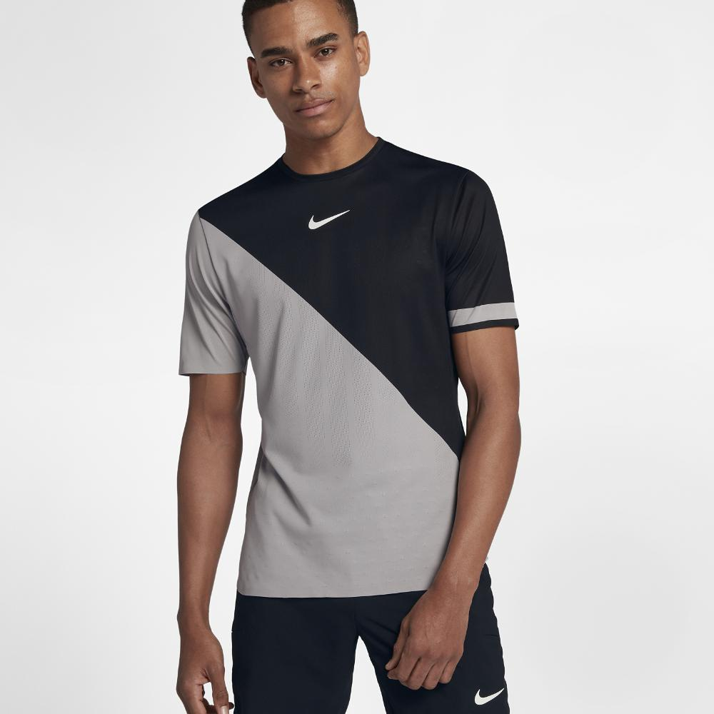 0abc3111 Nike Challenger V Neck T Shirt Mens – EDGE Engineering and ...