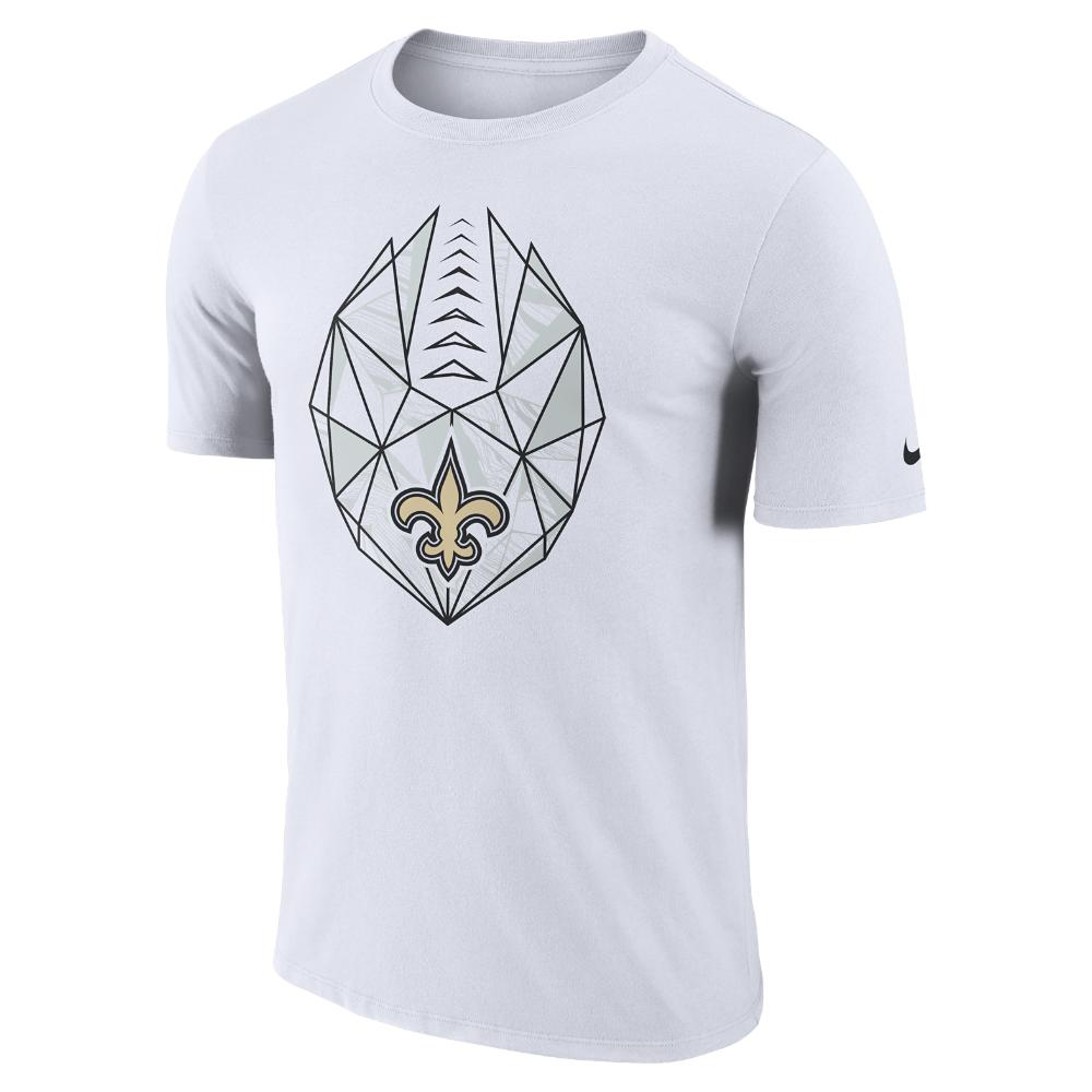 Lyst - Nike Dri-fit Icon (nfl Saints) Men s T-shirt in White for Men e4141069e