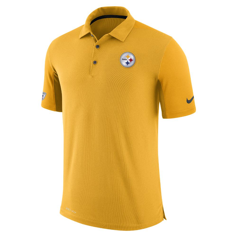 30c84e031 Lyst - Nike Dry Team Issue (nfl Steelers) Men s Polo Shirt in Yellow ...