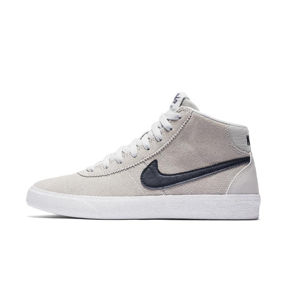 Lyst - Nike Sb Bruin High Women s Skateboarding Shoe in White 6c78ceb90