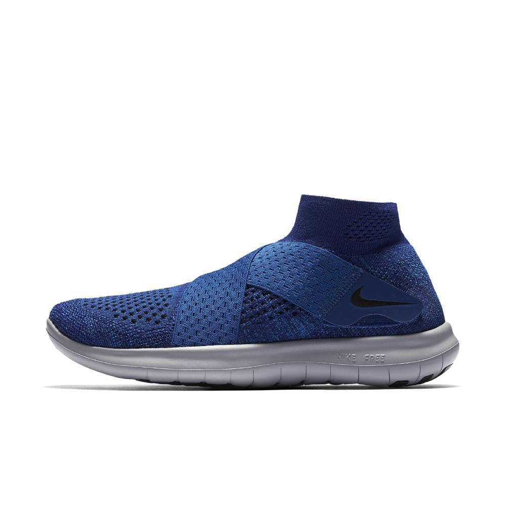 d41202a8bc3a spain nike blue free rn motion flyknit 2017 womens running shoe lyst b1ada  35aa1