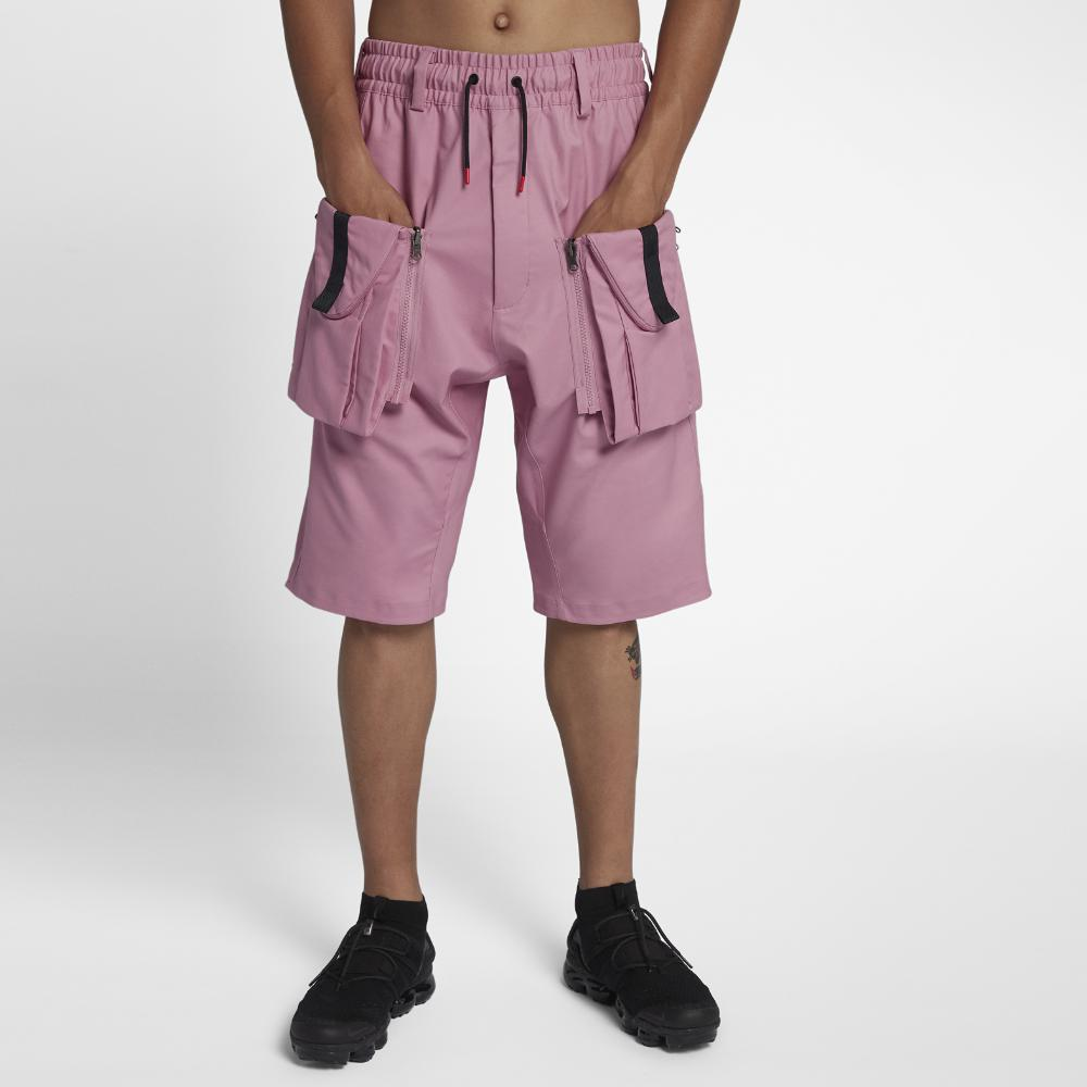 84f528b7934f8 Nike Lab Acg Deploy Men's Cargo Shorts in Pink for Men - Lyst