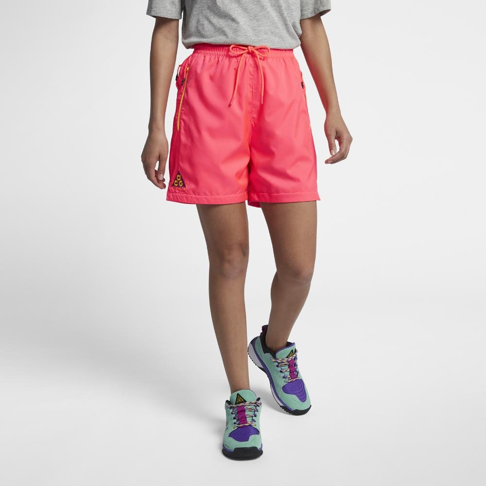 87ec3beee2 Nike Acg Men's Woven Shorts in Pink for Men - Lyst