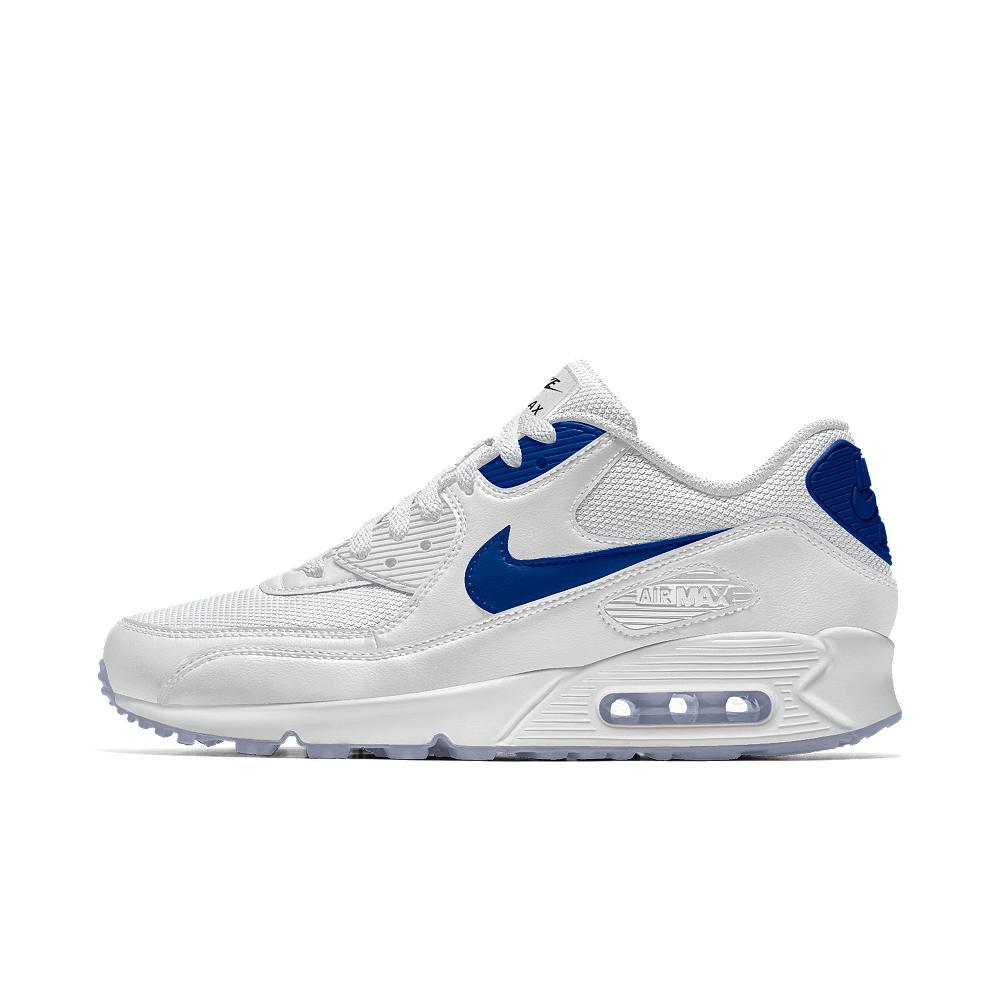official photos 63e57 00dbe Nike - Blue Air Max 90 Id Women s Shoe - Lyst. View fullscreen