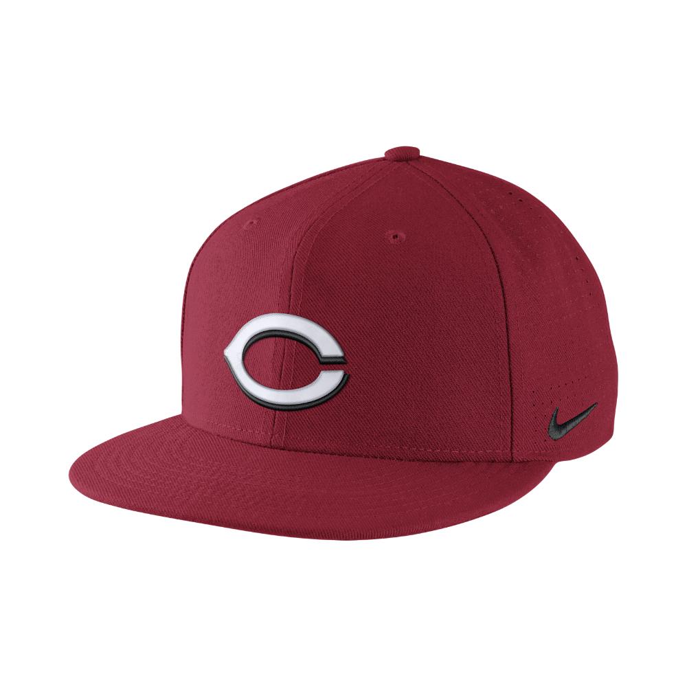15af9f665dd06 Lyst - Nike Dri-fit Vapor 1.4 (mlb Reds) Adjustable Hat (red) in Red ...