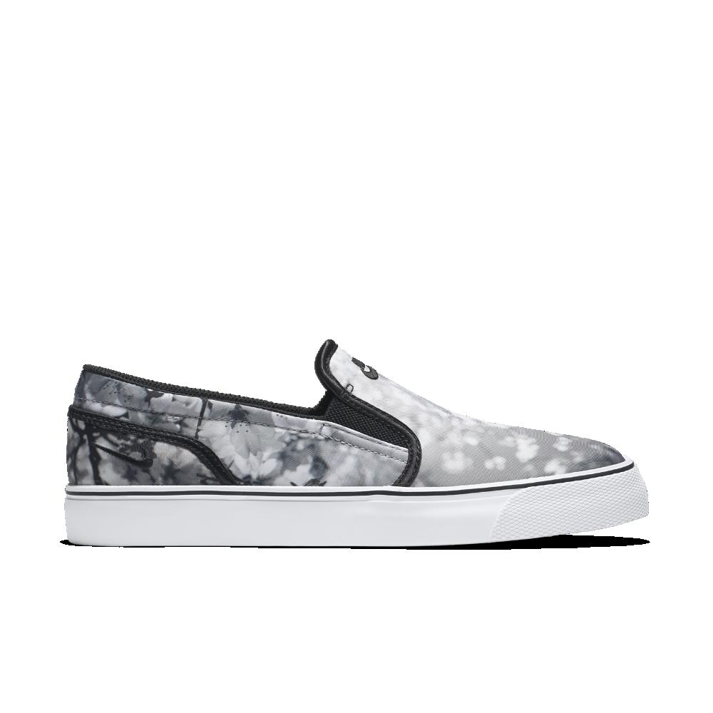 official photos b8058 fbe5f ... order lyst nike toki slip on cherry blossom womens shoe in gray 03666  10cea