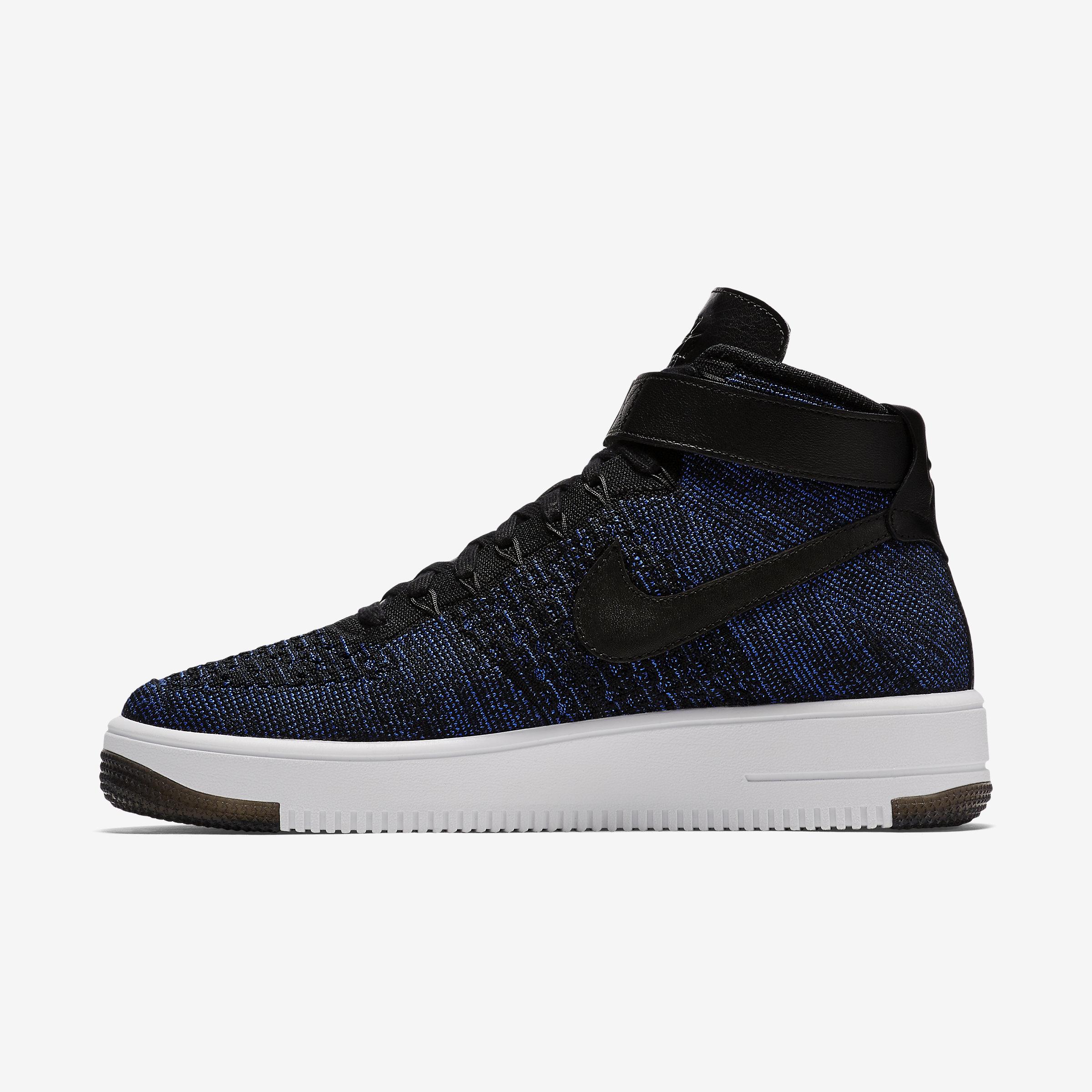 58387c3ca2d6 Nike Air Force 1 Ultra Flyknit in Black for Men - Lyst