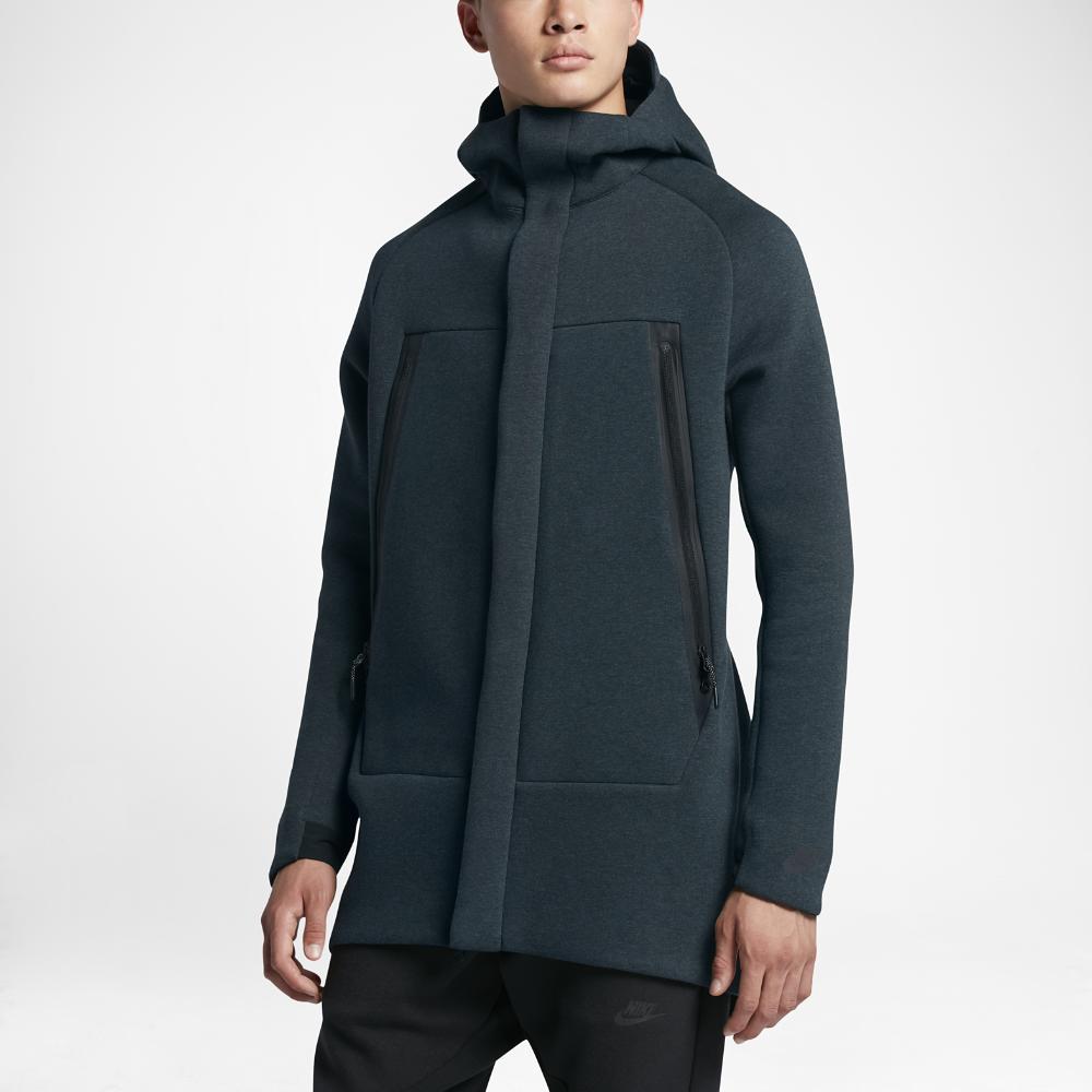 Nike Sportswear Tech Fleece Men's Parka in Black for Men ...