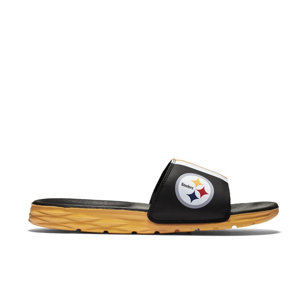 Lyst Nike Benassi Solarsoft Nfl Steelers Men S Slide