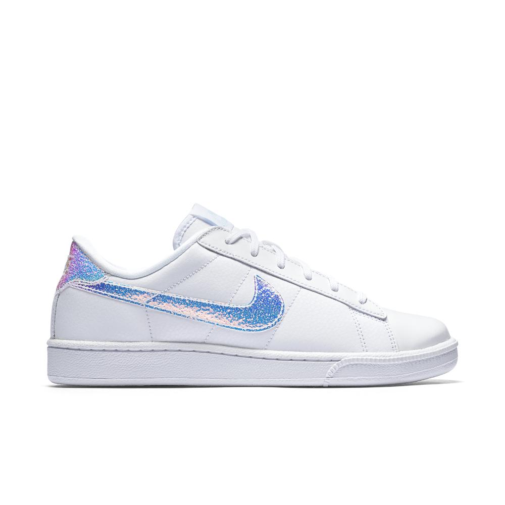 nike court tennis classic premium s shoe in white lyst