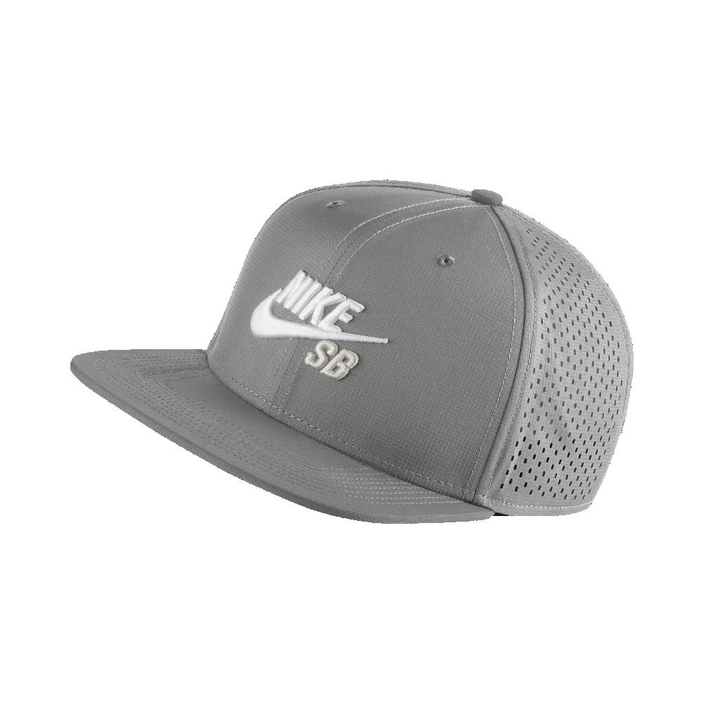 aaba6bd1d7c Lyst - Nike Sb Performance Trucker Hat (grey) in Black for Men