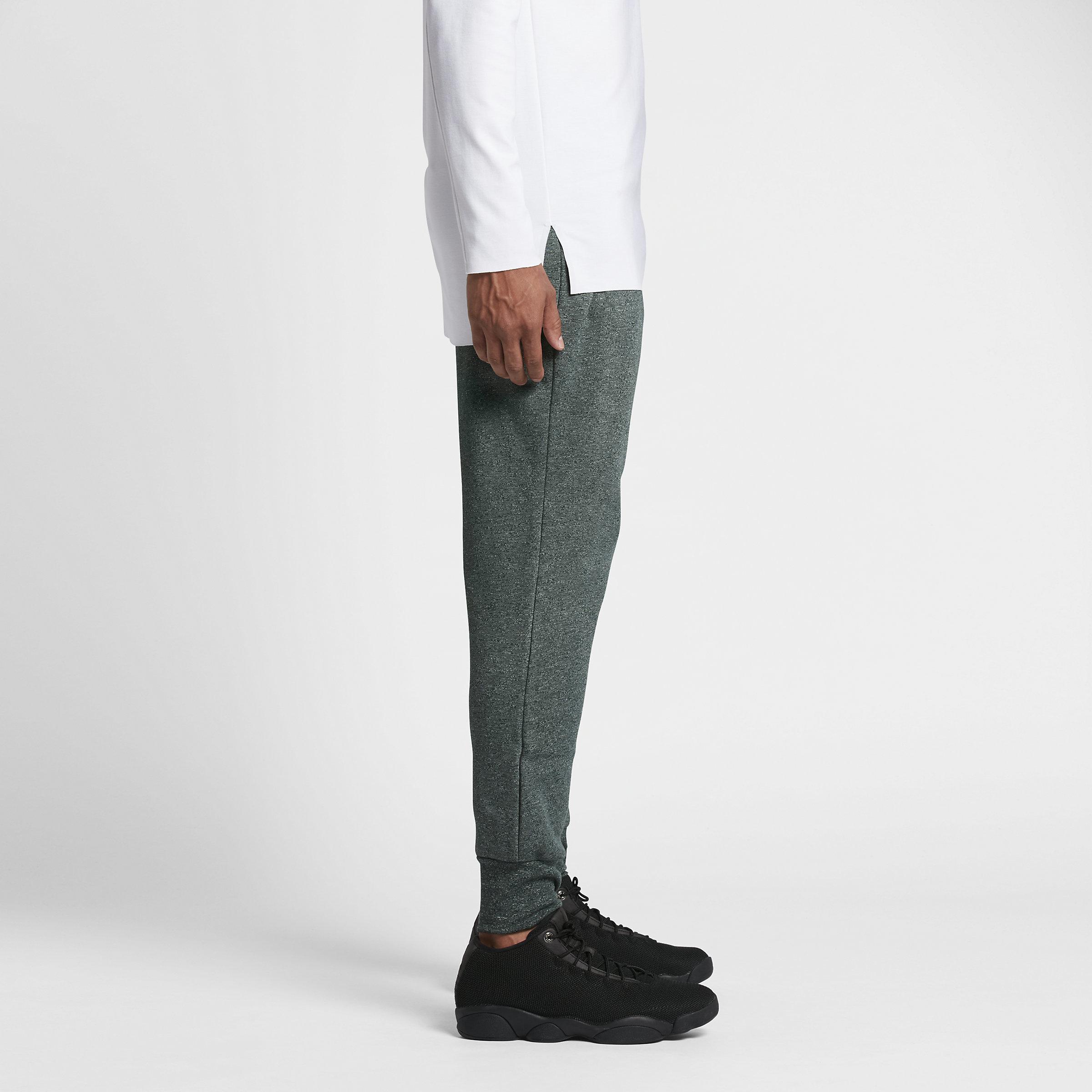 863a25eb2e9858 Nike Jordan Icon Fleece Cuffed in Green for Men - Lyst