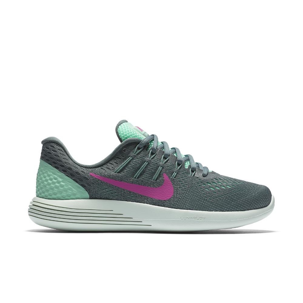 nike lunarglide 8 s running shoe in green lyst