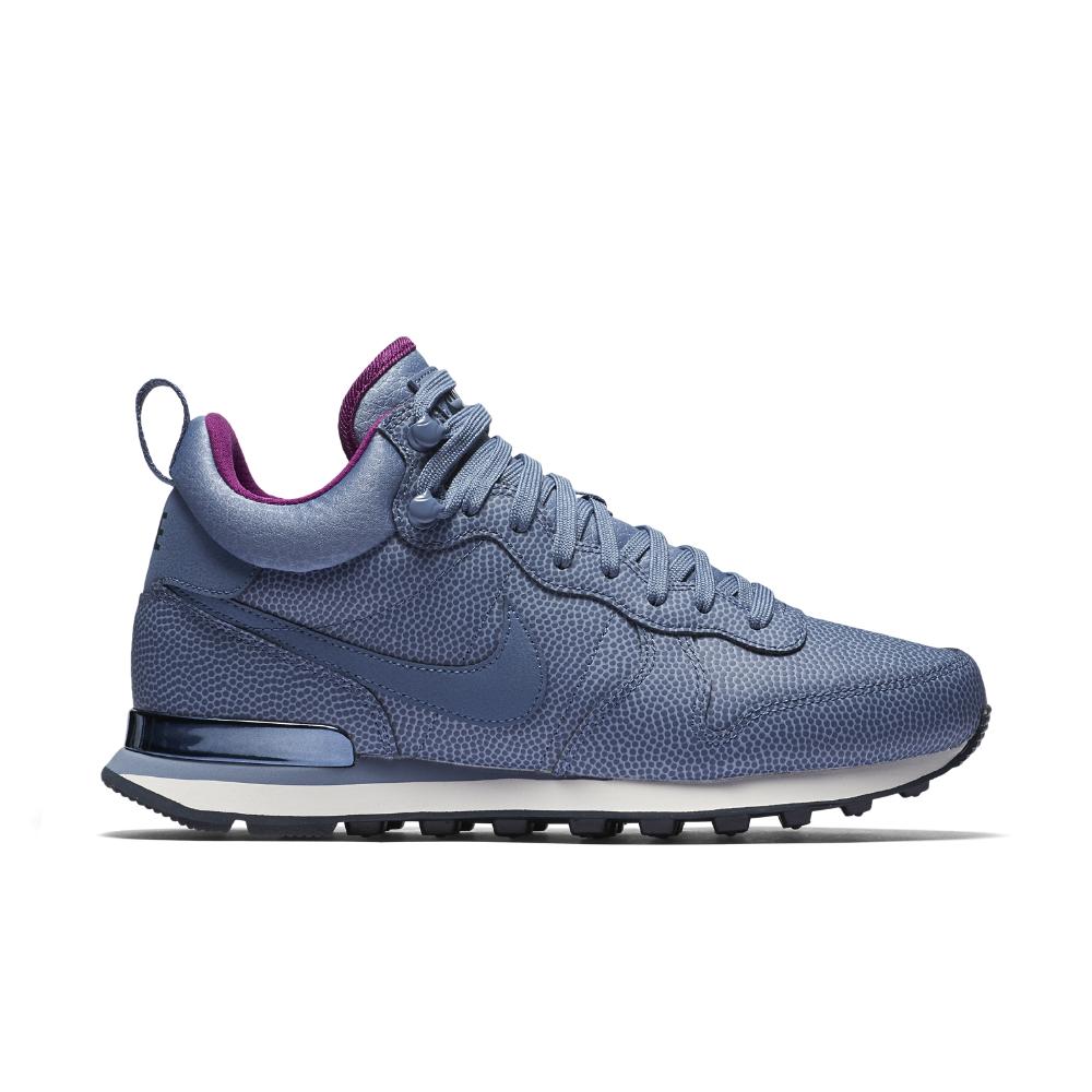 4ab71cdf463d Lyst - Nike Internationalist Mid Leather Women s Shoe in Blue