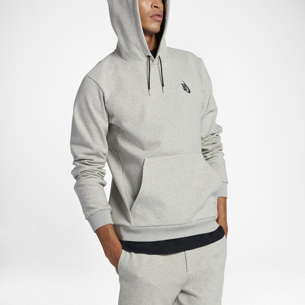 712b5651 Nike Lab Essentials Pullover Men's Hoodie in Gray for Men - Lyst
