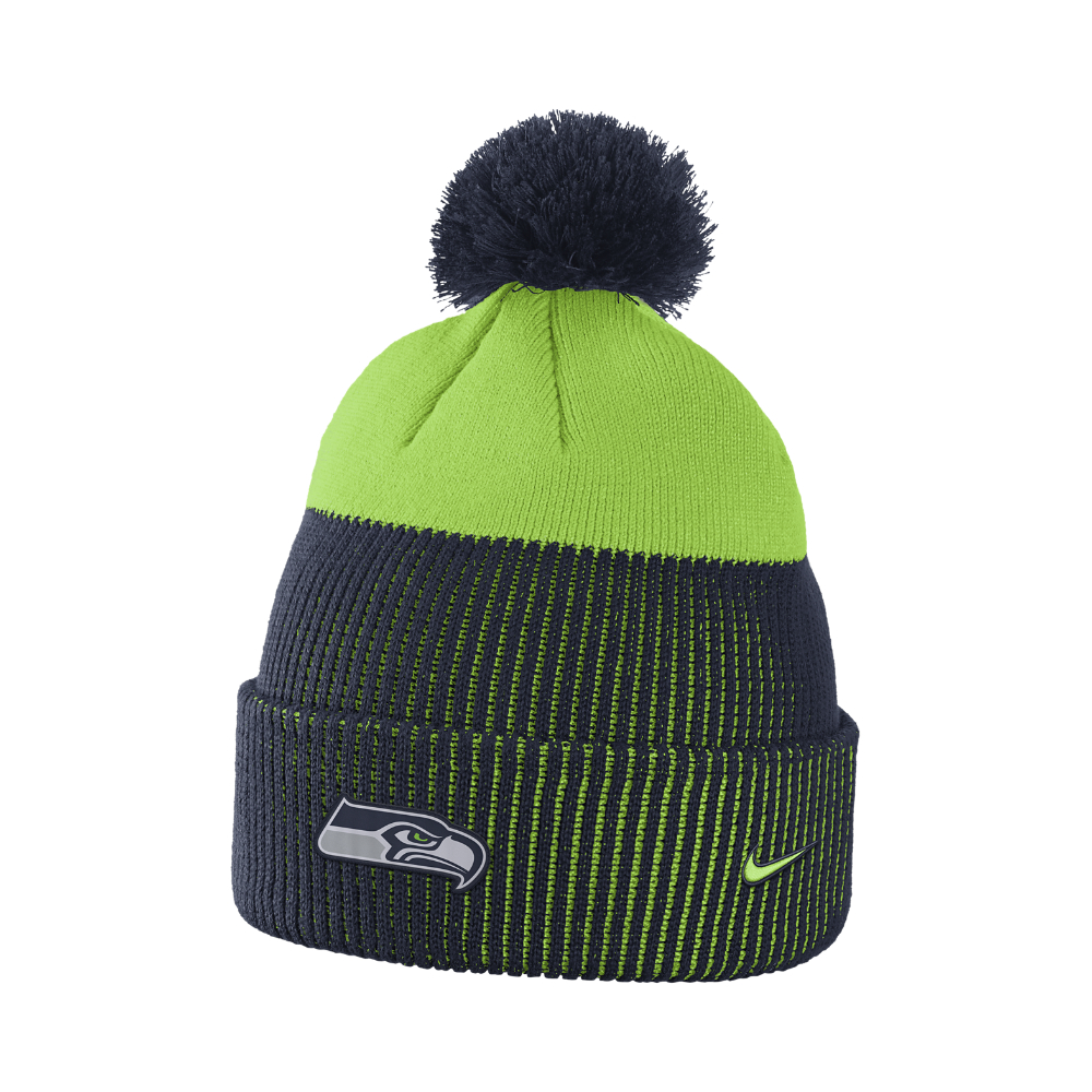 029461876a7 Lyst - Nike New Days (nfl Seahawks) Knit Hat (blue) in Green