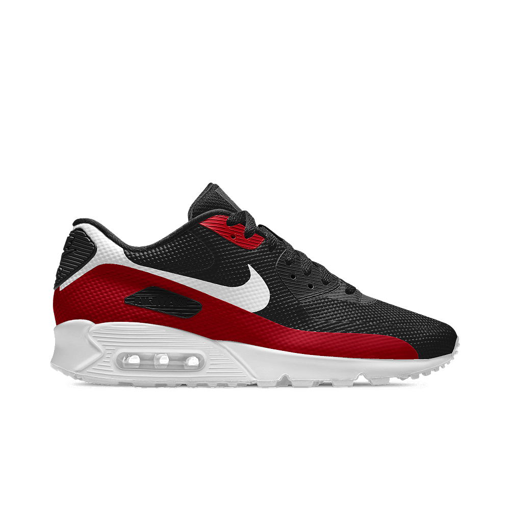 lyst nike air max 90 hyp premium id men 39 s shoe in red. Black Bedroom Furniture Sets. Home Design Ideas