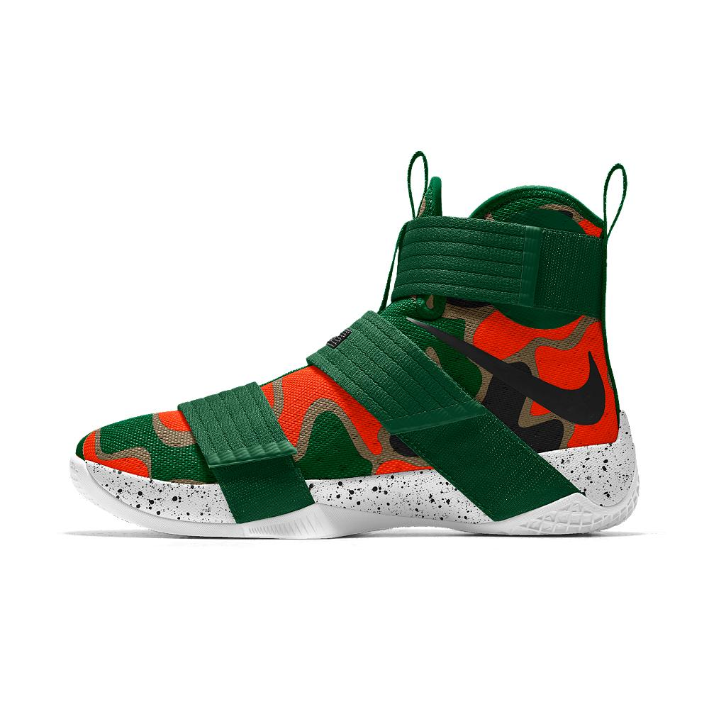 Nike Zoom Lebron Soldier 10 Id Men's Basketball Shoe in ...