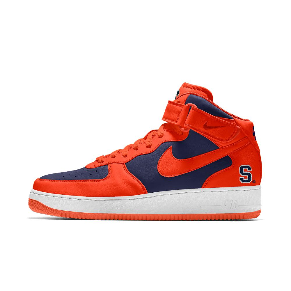 nike air 1 mid college id s shoe in orange for