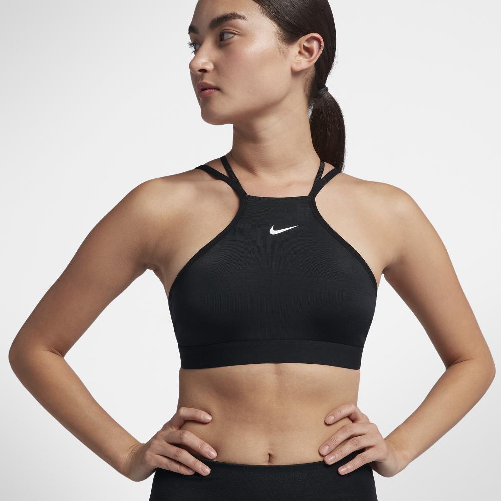 d6f39ba8c3 Lyst - Nike Indy Modern Women s Light Support Sports Bra in Black