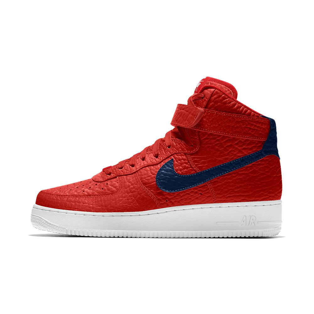 competitive price 645f0 b8243 Nike Air Force 1 High Premium Id (washington Wizards) Men's Shoe in ...