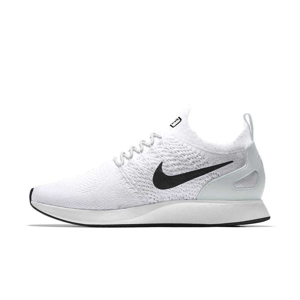 Lyst - Nike Air Zoom Mariah Flyknit Racer Id Men s Shoe in White for Men daafa9df6