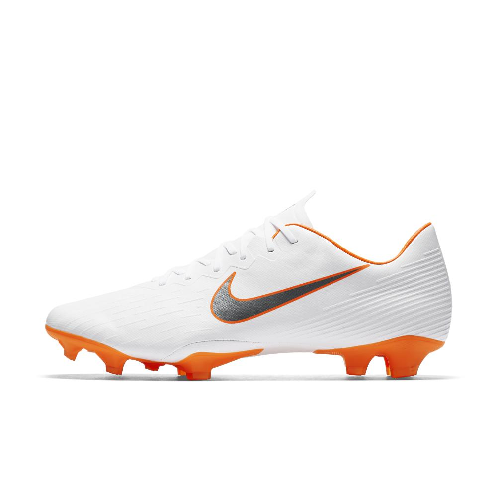Nike. Men s White Mercurial Vapor Xii Pro Just Do It Firm-ground Soccer  Cleats eb93fa98d