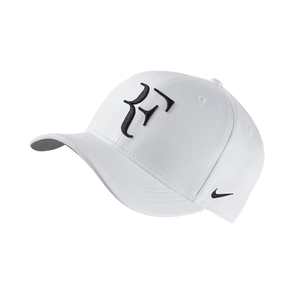 Lyst - Nike Court Aerobill Roger Federer Adjustable Tennis Hat ... 45f2ca8bb32
