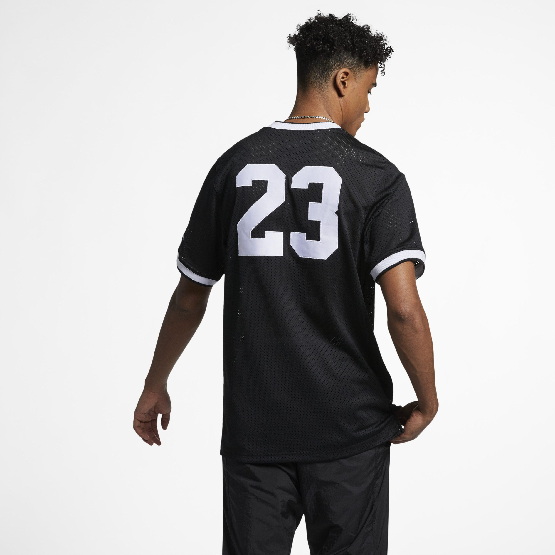 4eb426799f0416 Nike - Black Jordan Jumpman Air Mesh Basketball Jersey for Men - Lyst. View  fullscreen