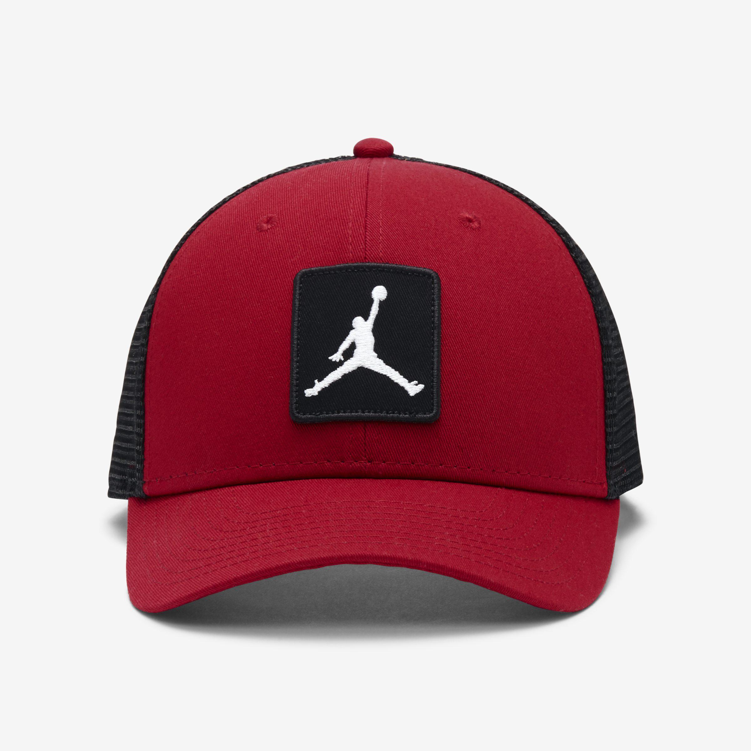 5e812f486433 Nike Jordan Jumpman Classic99 Trucker Adjustable Hat in Red for Men ...