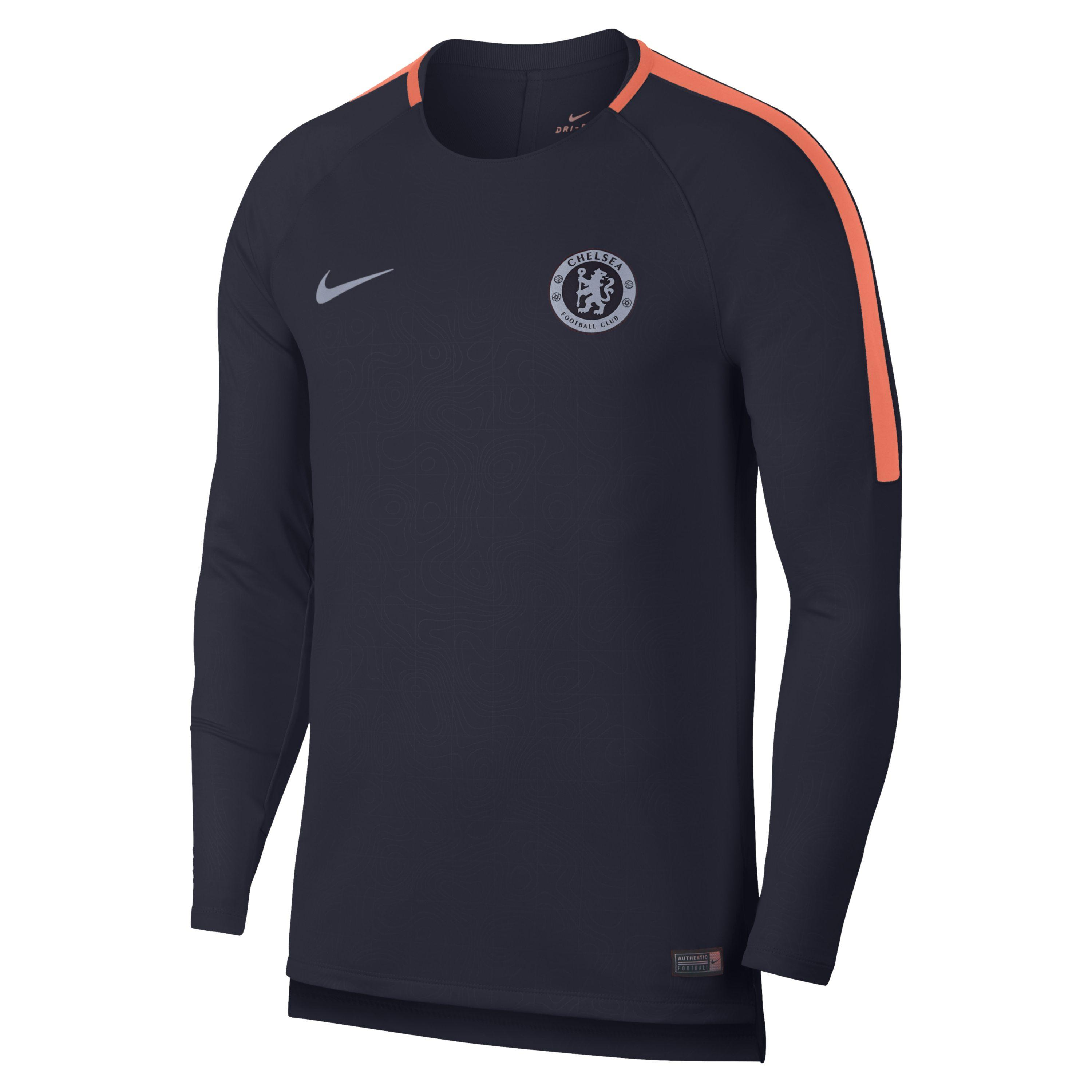 923f0806a Nike Chelsea Fc Dri-fit Squad Long-sleeve Football Top in Blue for ...