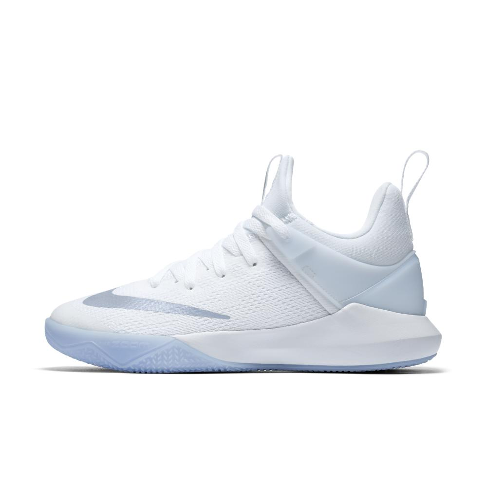 8ad3651526dc Lyst - Nike Zoom Shift Women s Basketball Shoe in White