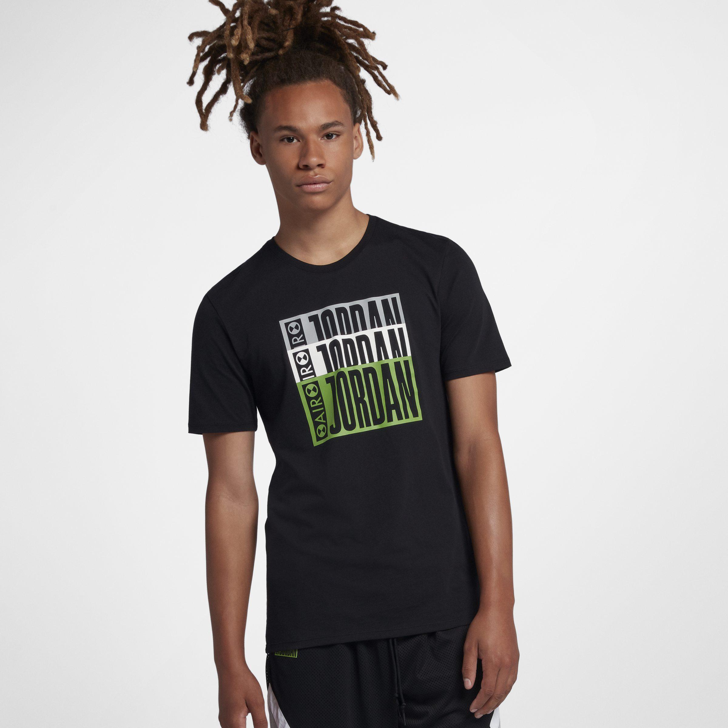 uk availability 6478f 8f26e Nike Jordan Legacy Aj 3 Tinker T-shirt in Black for Men - Lyst