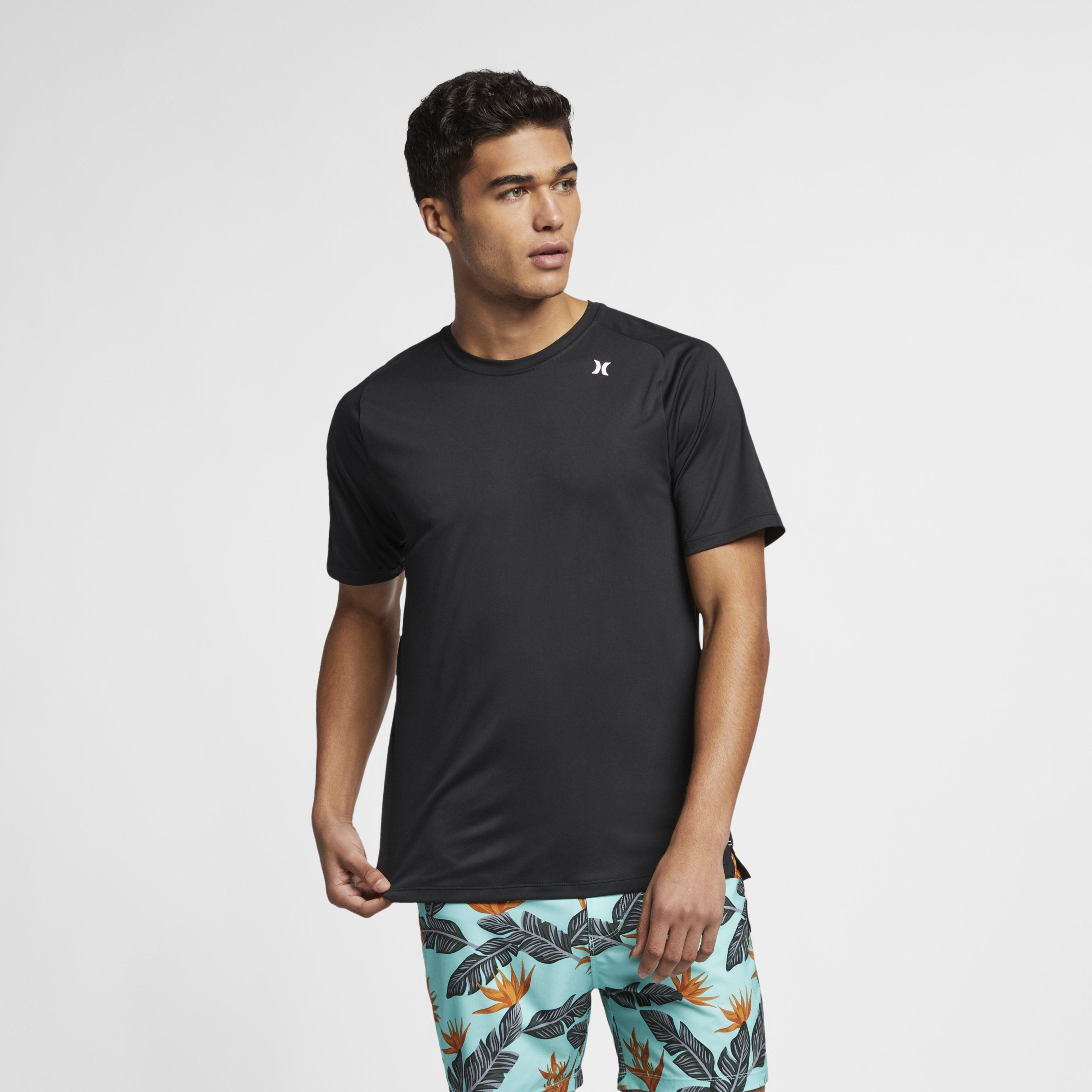 785347be Nike Hurley Quick Dry T-shirt in Black for Men - Lyst