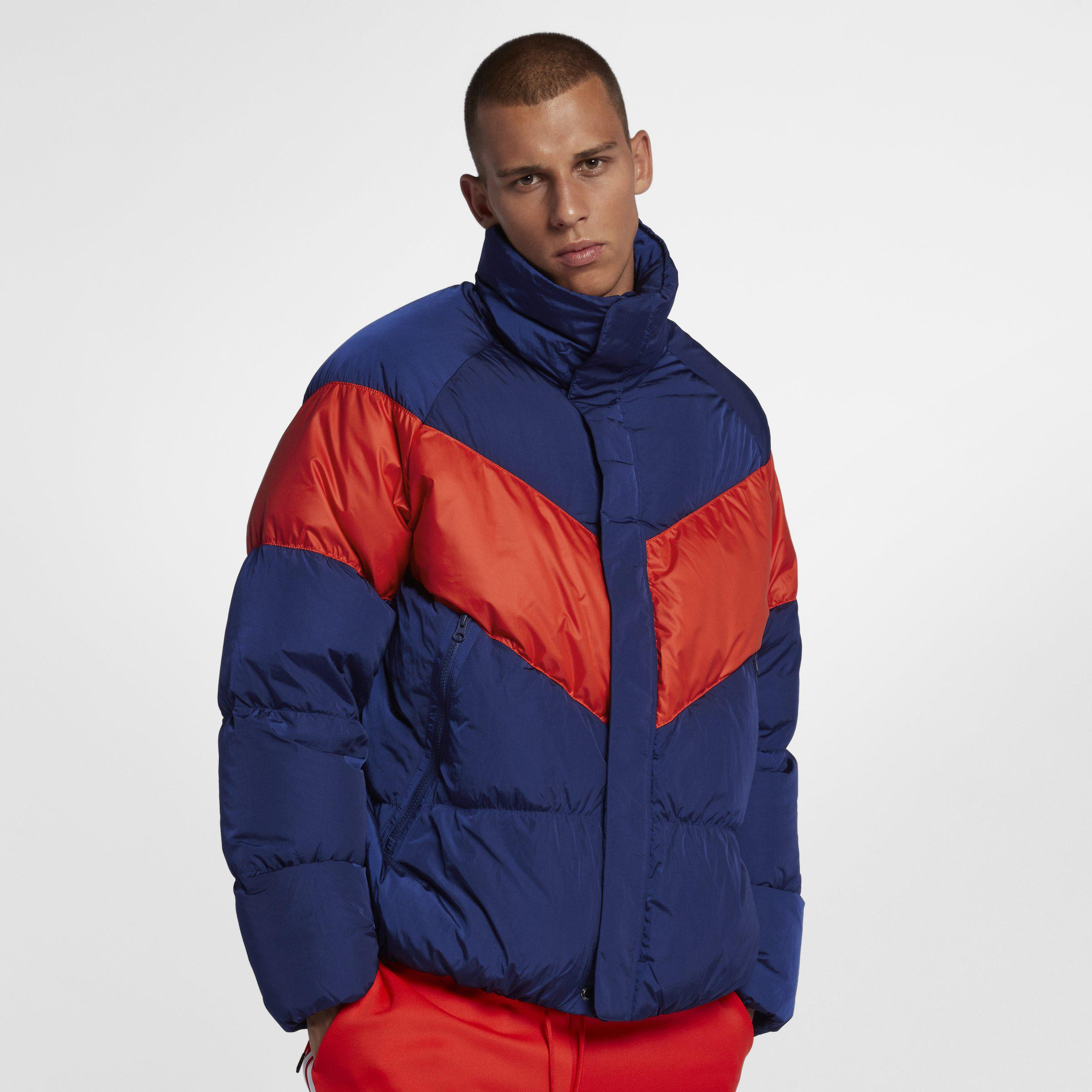 9cdf20d50439 Nike Sportswear Down Fill Jacket in Blue for Men - Lyst