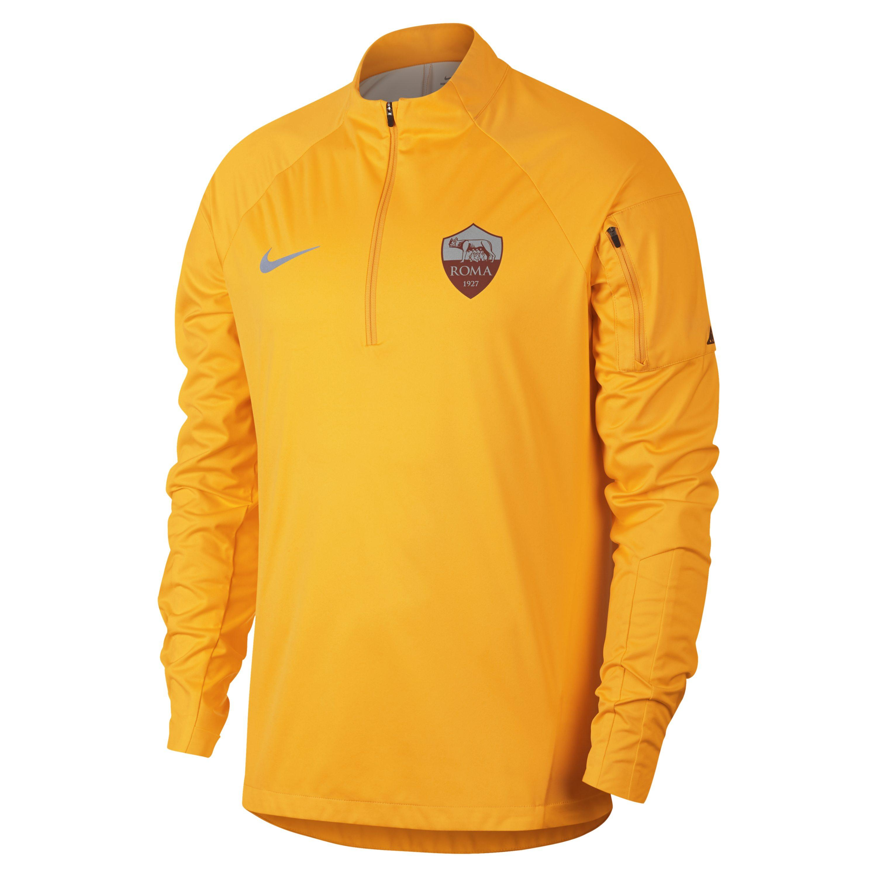 4fb4d5fcf Nike As Roma Shield Squad Football Drill Top in Metallic for Men - Lyst