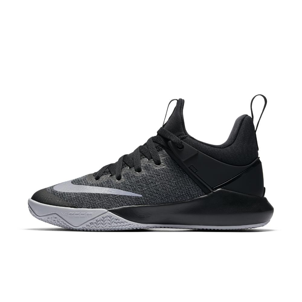 Nike. Black Zoom Shift Women's Basketball Shoe