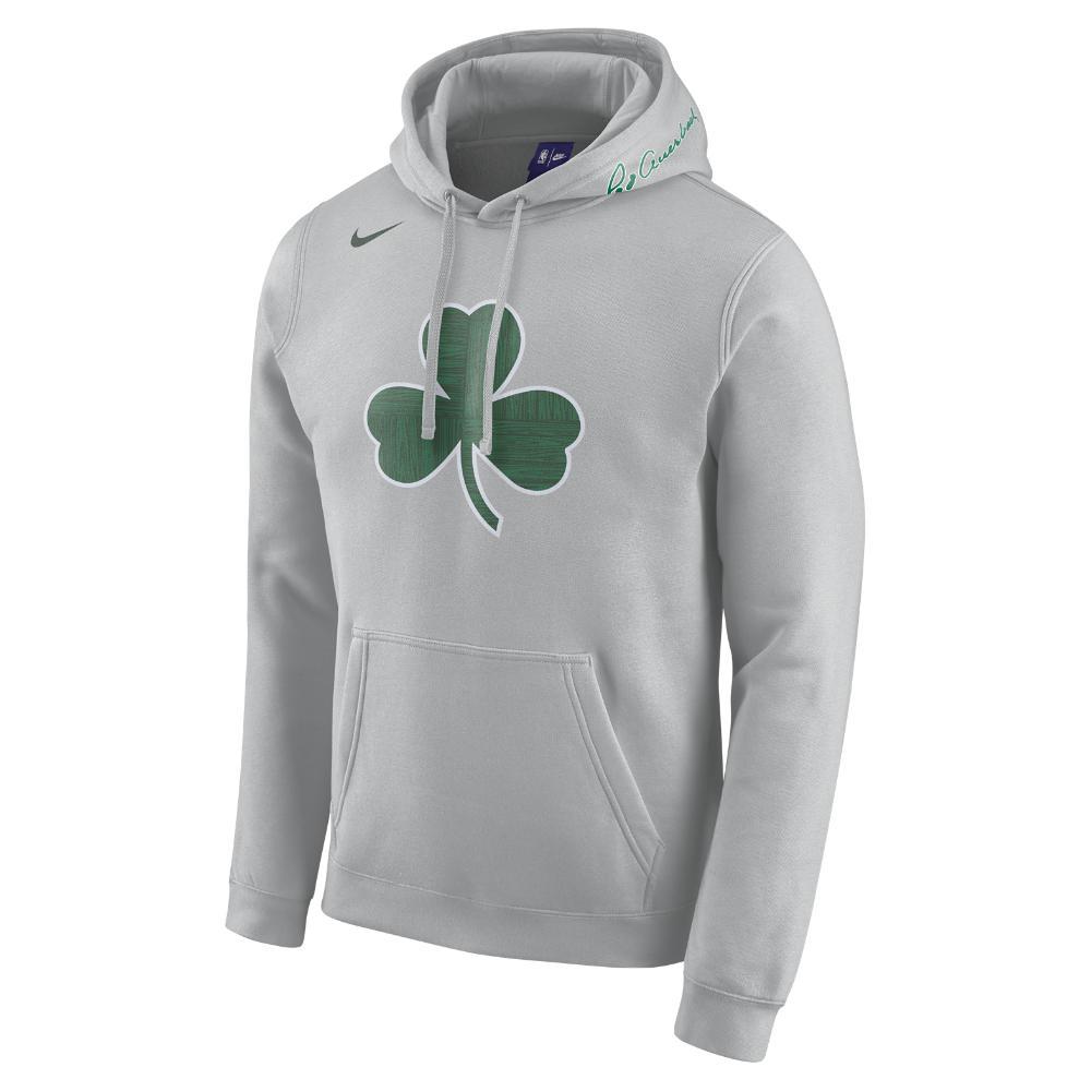 Lyst - Nike Boston Celtics City Edition Men s Nba Hoodie in Gray for Men 21402ef7a