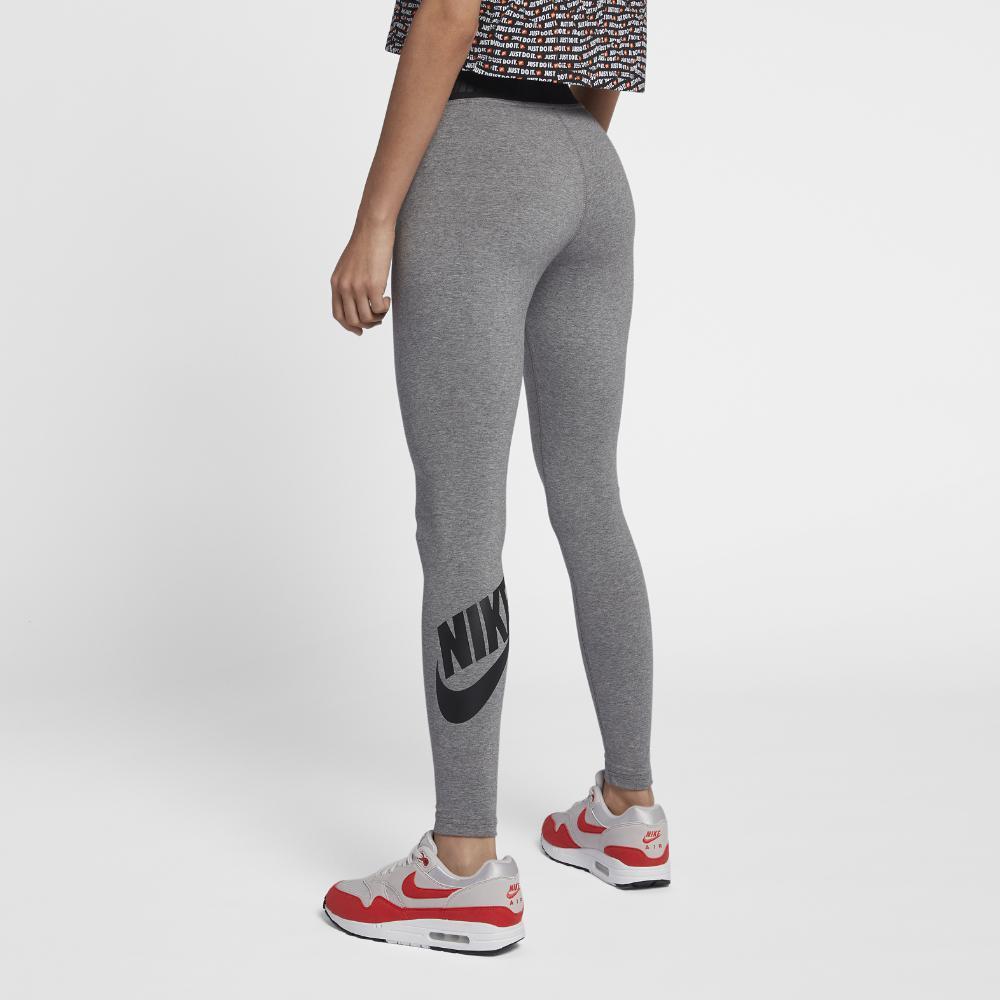 70c8907e56 Nike - Black Sportswear Leg-a-see Women's Logo Leggings - Lyst. View  fullscreen