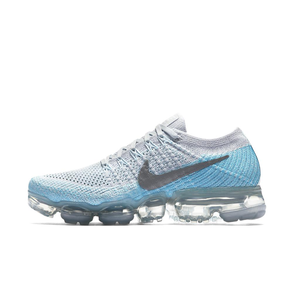 ebd62de556f99 Lyst - Nike Air Vapormax Flyknit Women s Running Shoe in Blue for Men