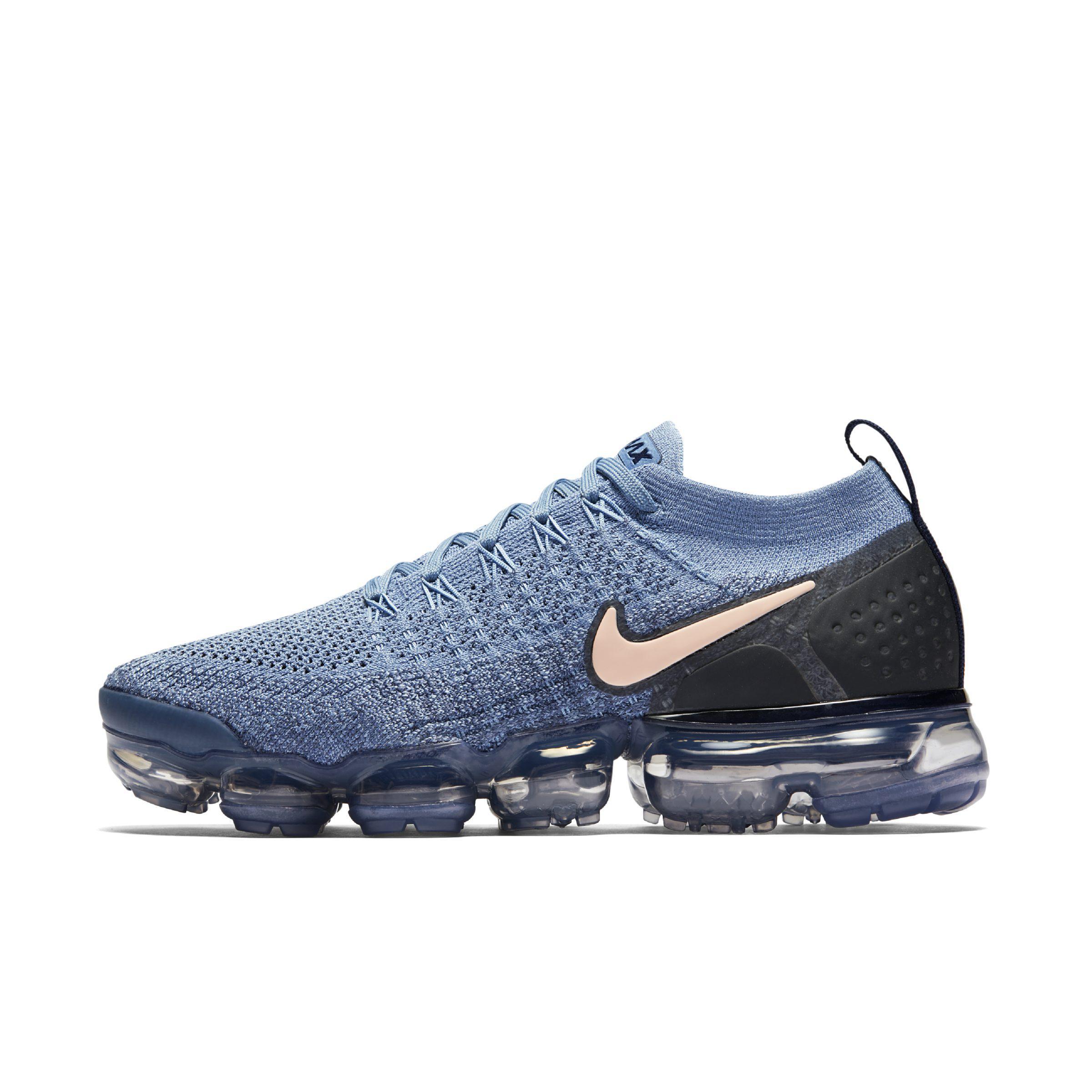 3862b627b529 Nike Air Vapormax Flyknit 2 Shoe in Blue - Lyst