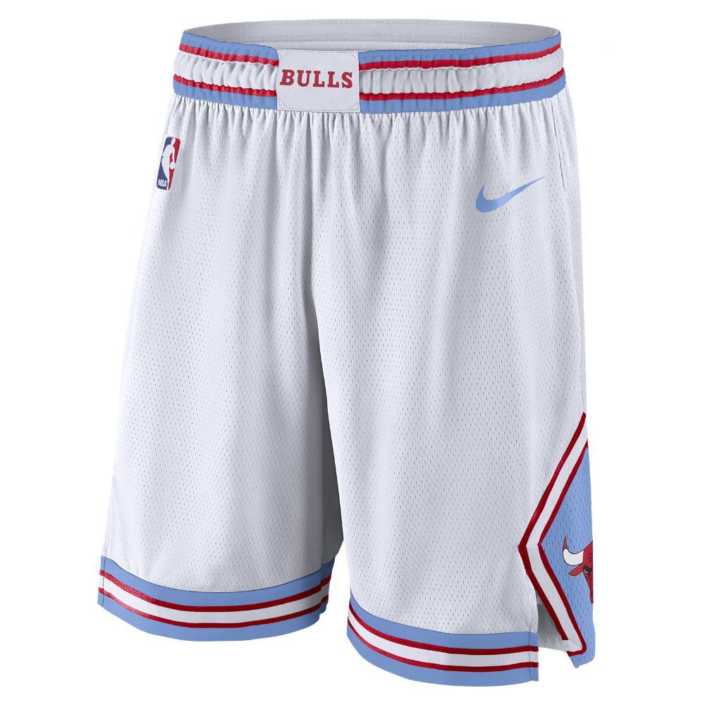 Lyst - Nike Chicago Bulls City Edition Swingman Men s Nba Shorts in ... 87aece869