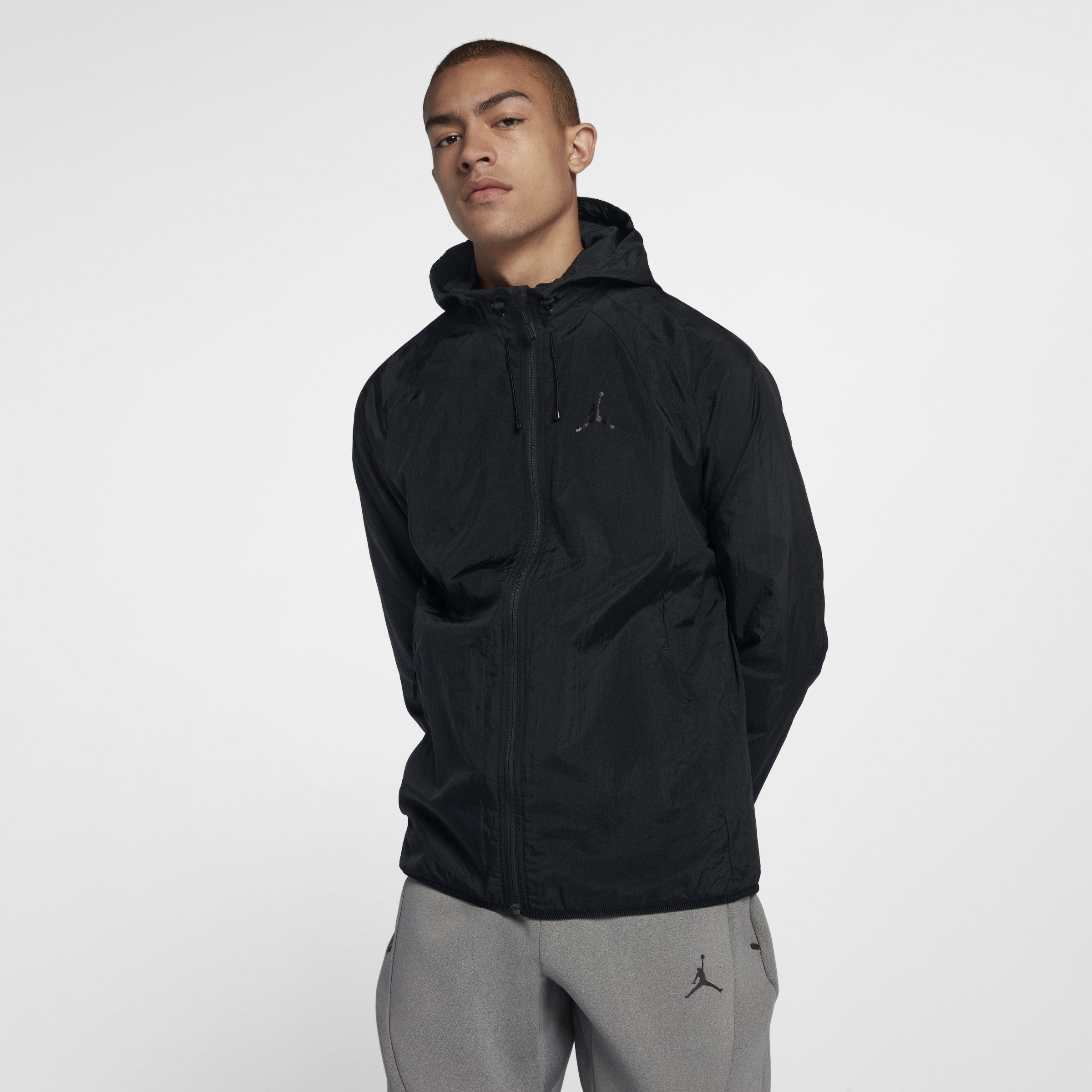 ff7d4b7c1ae6 Nike Jordan Lifestyle Wings Windbreaker Jacket in Black for Men - Lyst