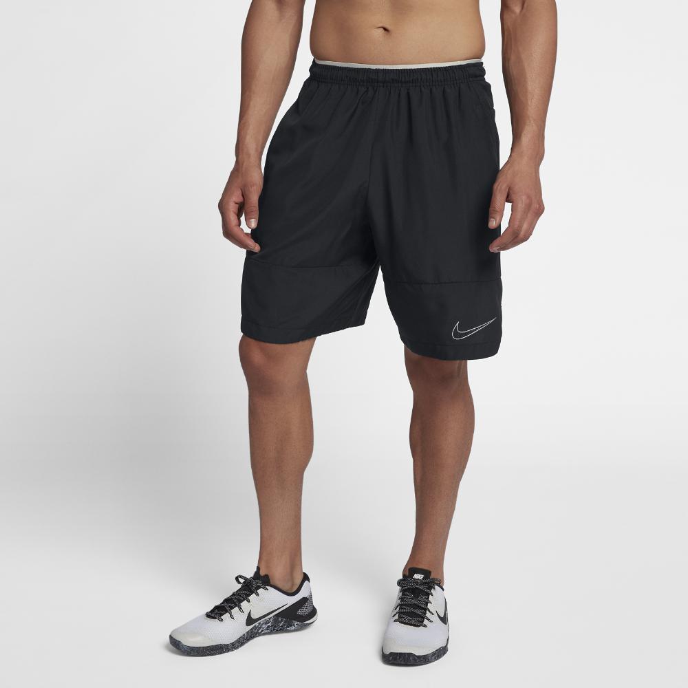 a7e4eaf20324 Lyst - Nike Dri-fit Untouchable Men s Woven Football Shorts in Black ...